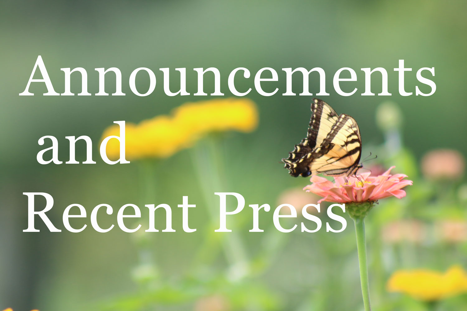 announcements-and-recent-press