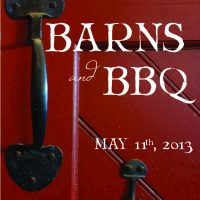 2013 Barns & BBQ Program Book - cover