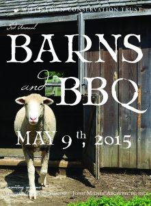 2015 Barns & BBQ Program Book_2015 cover single sheep