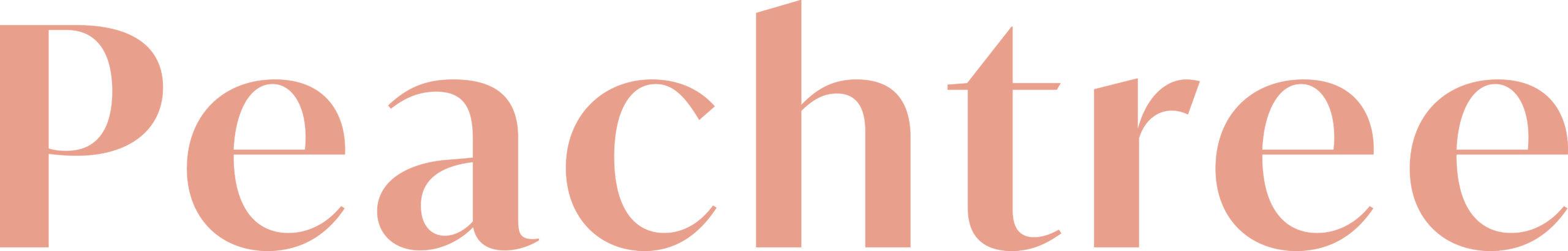 Peachtree Logo (Color)