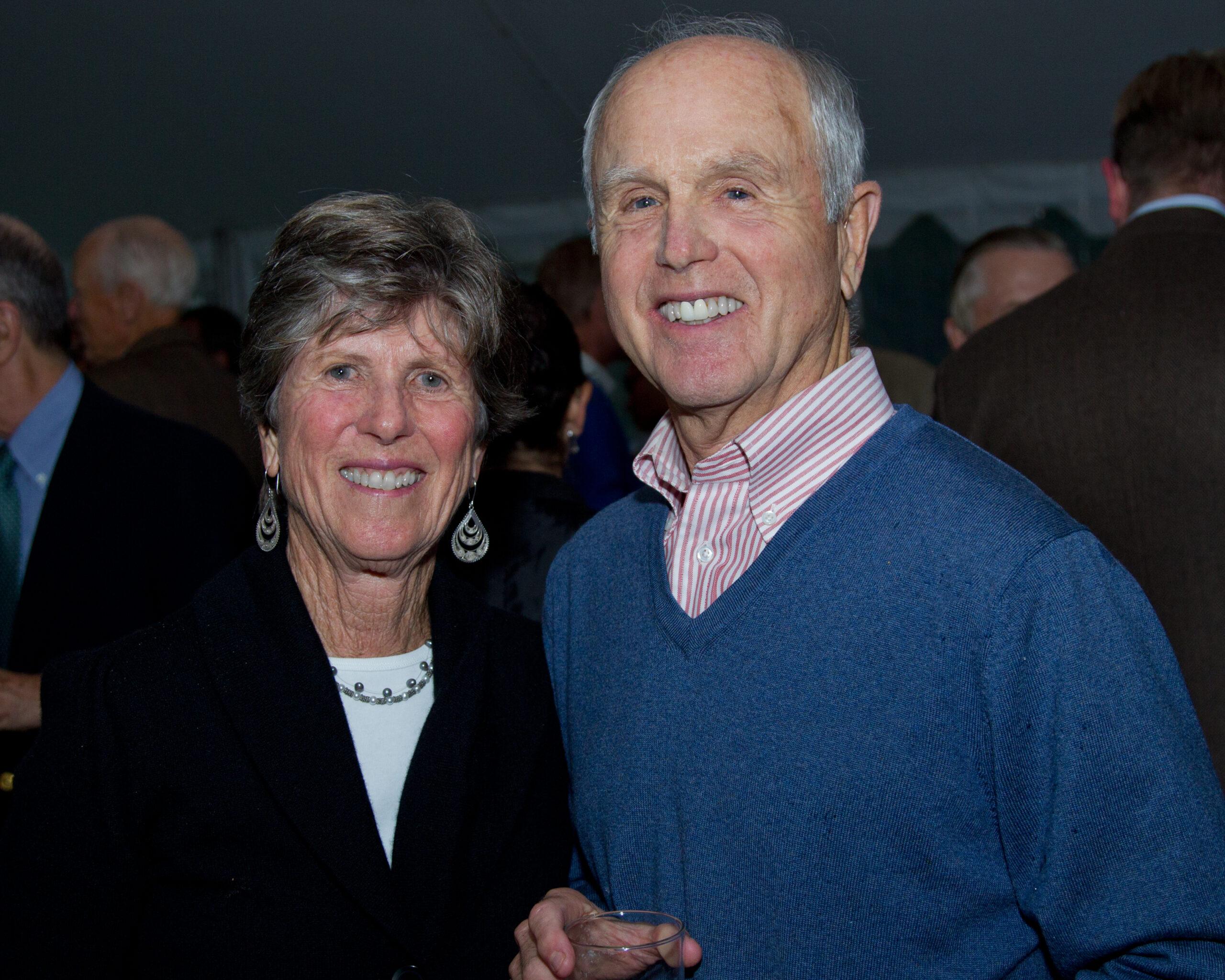 Chater Members Liz and Peter Strawbridge